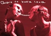 Quiero tu boca loca/ Je veux ta bouche folle. Black Maura