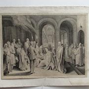 Monogrammiste P. V. B : La Circonsision. 1520.. Historien d'art, Archéologue; Chercheur Free-L.
