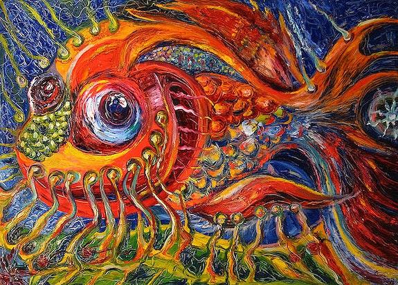 Golden fish. Temod Temo D
