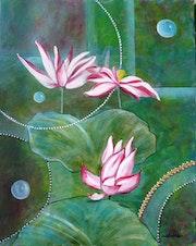 Les trois lotus.