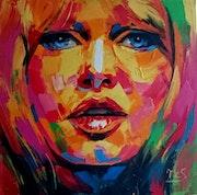 Brigitte bardot-style fauvisme 80x80.