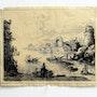 Gelée Claudius : Un port, avec ruines. 1633.. Historien d'art, Archéologue; Chercheur Free-L.