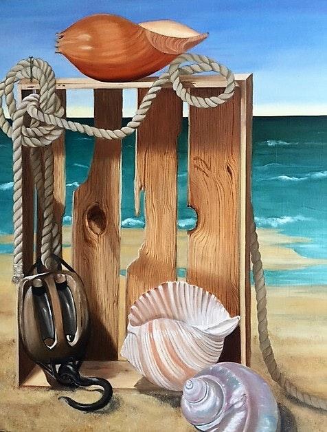 La caisse de mer. Annie B Annie B