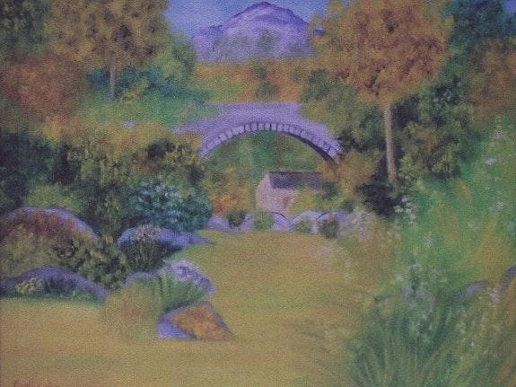 Le petit pont. Gerard Flohic Gerard Flohic