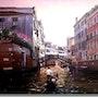Evening in Venice. Ms.