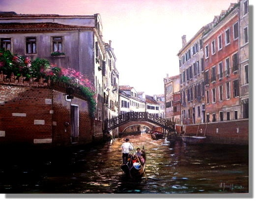 Evening in Venice. I. Joseph Master Painter Ms.