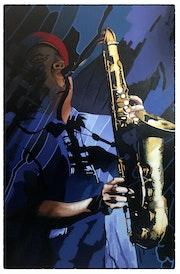 Saxophoniste 02. Dominique Boucher