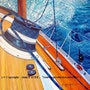 Winch a tribord. Alain Faure En Peinture