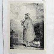 Théodore géricault : Le Joueur de Cornemuse.. Historien d'art, Archéologue; Chercheur Free-L.