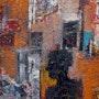 The wall, matières et polychromie.. Jacques Donneaud