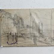 Friesz Émile-Othon : Le port de Dopuarnenez. Historien d'art, Archéologue; Chercheur Free-L.