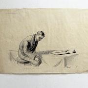 Forain Jean-Louis : La douloureuse (ou : «c'est lourd une plume»).. Historien d'art, Archéologue; Chercheur Free-L.