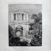 Lalanne Maxime : Frontispice pour l'édition de 100 eaux-fortes, chez Cadart.. Historien d'art, Archéologue; Chercheur Free-L.