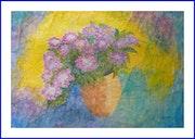 Bouquet d'hortensias.