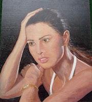 Visage d'artiste - Agathe.