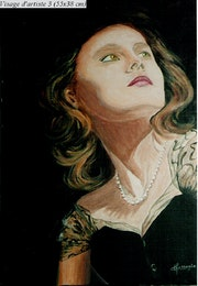 Portrait d'artiste - sans nom.