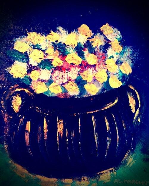 La poésie des fleurs.  Anne-Lise Marguet