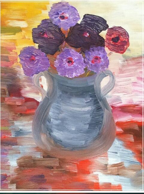 La fantaisie des fleurs.  Anne-Lise Marguet