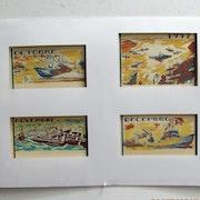 Anonyme peintre de la Marine. Calendrier de 1952. Groupe 3/3.. Historien d'art, Archéologue; Chercheur Free-Lance (Er)