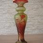 Glasziervase, «Roses», Val Saint Lambert, um 1895-1900.. Glaskunstgalerie Raphael