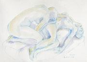 Aphrodite beweint Adonis (3), Piana, Korsika (2002) Ansicht von rechts. Hajo Horstmann