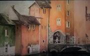 Le pont Morens (Annecy). Brigitte Grenesche