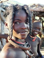 Photographie Jeune Himba namibie.