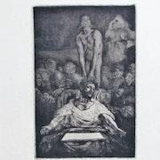 Chifflart F. N. : Périclès au chevet de son fils mort. Historien d'art, Archéologue; Chercheur Free-L.