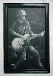 Le guitariste. Osam