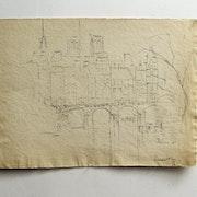 Ney Lancelot : Paris imaginaire (? ) : Paysage urbain d'hiver. Historien d'art, Archéologue; Chercheur Free-L.