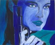 La femme au pistolet.