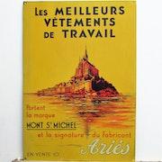 .Mont -.St-.MICHEL :.Iconographie (du) : (Ariès, publiciste).. Historien d'art, Archéologue; Chercheur Free-Lance (Er)
