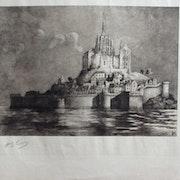 .Mont-.st-.michel (11/16) : (.Iconographie du) : h. voisin (19)25.. Historien d'art, Archéologue; Chercheur Free-L.