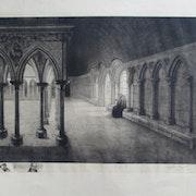 . Mont-. st-.michel : iconographie du : (14/16) :. h. Voisin.. Historien d'art, Archéologue; Chercheur Free-L.