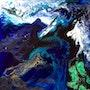 Bleu ou blues…. Marie-Claude Lambert