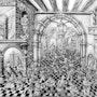 Le refus de frere jean du cadeau du roi parigon de l'ile de cheli. Jean Claude Buisson