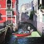 Red Gondola. Ms.