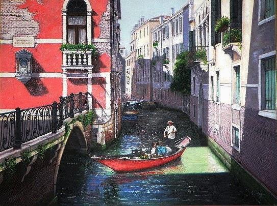 Red Gondola. Ijoseph Ms.