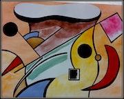 «La llesqa sobre el forn». Joan Pascuti