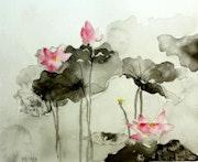 Les lotus. Yokozaza