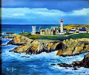 Pointe St Mathieu. Andre Blanc