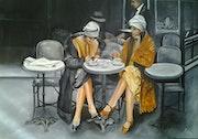 Les parisiennes. Nelly Larue