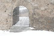Carcassonne sous la neige - cn12.