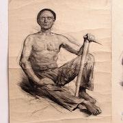 Jonas Lucien H. : Le fameux mineur de Jonas. 1935.. Historien d'art, Archéologue; Chercheur Free-L.