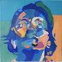 Portrait surréaliste d'un maître surréaliste, Surrealist Portrait of a Surrealist. Michel Copin