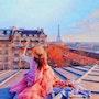 Vue des toits de Paris. Marie Carteron