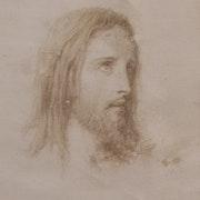 Lazerges Hipolyte : Le Christ. 1869.. Historien d'art, Archéologue; Chercheur Free-L.