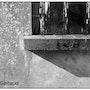 Maison délabrée / appui de fenêtre. Val Gerbaud