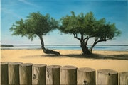 La plage de Lanton.