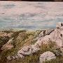 Vialas Le rocher du Trenze. Colette